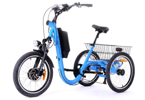 Tricycle Evasion 20 pouces - Bleu Electric