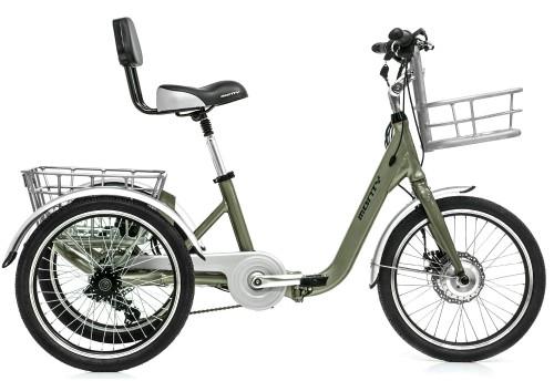Tricycle électrique Monty E132 noir