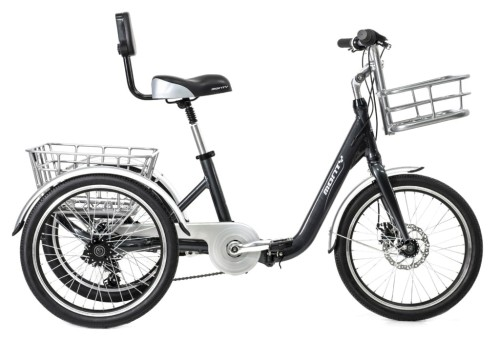 Tricycle adulte pliant Monty 608 noir