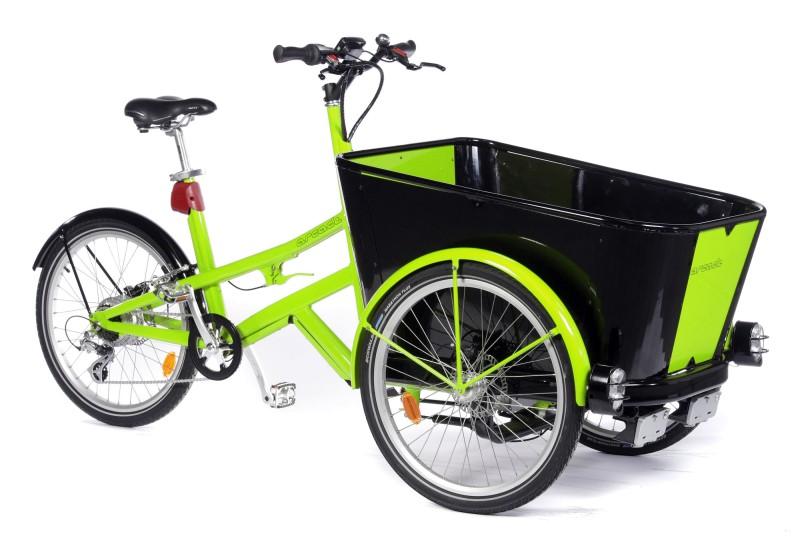 Triporteur lectrique t box bac - Tricycle couche electrique ...