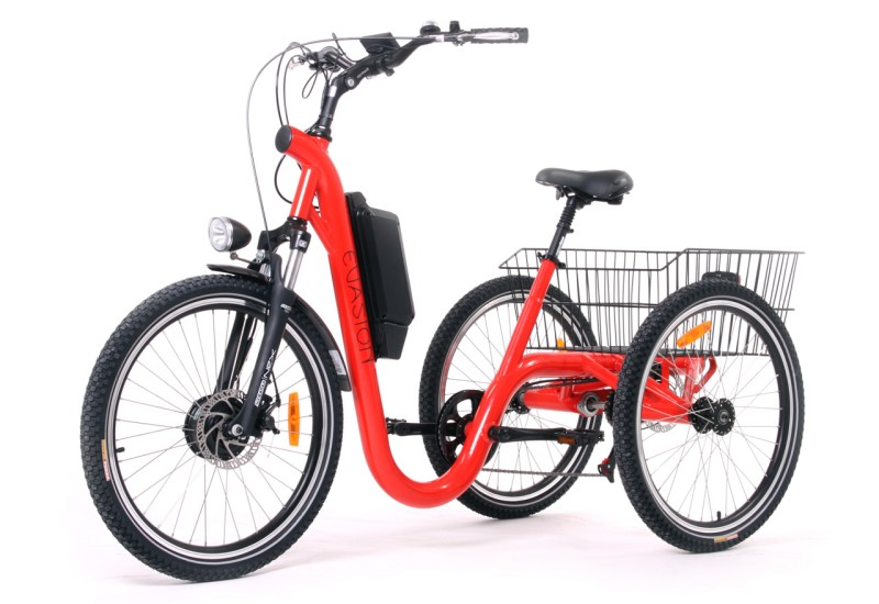 le tricycle fran ais lectrique evasion version 24 pouces. Black Bedroom Furniture Sets. Home Design Ideas