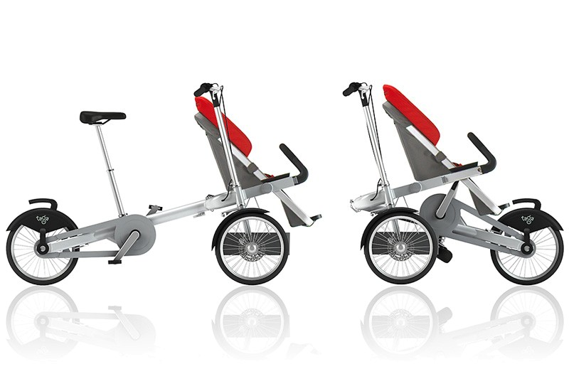 tricycle poussette taga convertible 2 en 1. Black Bedroom Furniture Sets. Home Design Ideas