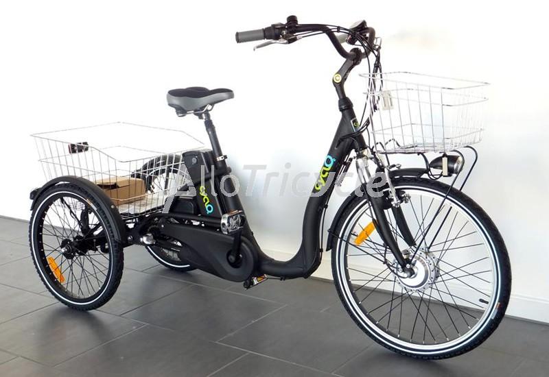 Tricycle lectrique comfort 24 chez - Tricycle couche electrique ...