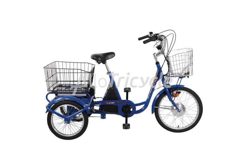 Tricycle lectrique carga large chez - Tricycle couche electrique ...