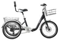 Tricycle adulte pliant Monty 608 noir