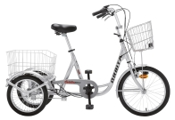 Tricycle adulte CARGA inclinable