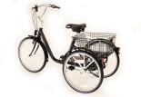 Vue 3/4 arrière tricycle Marius