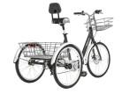 Tricycle pliant MONTY 609 roues 24 pouces
