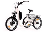Tricycle Evasion 20 pouces - Blanc