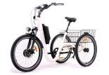 Tricycle Evasion 24 pouces - Blanc