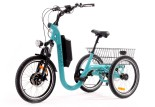 Tricycle Evasion 20 pouces - Bleu Turquoise