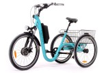 Tricycle Evasion 24 pouces - Bleu Turquoise
