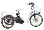 Tricycle électrique Comfort 24 blanc