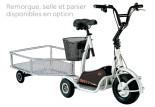 Remorque pour tricycle électrique Dpie Monty