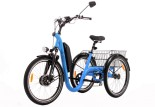Tricycle Evasion 24 pouces - Bleu Electric