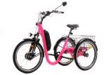 Tricycle Evasion 24 pouces - Fuchsia