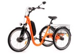 Tricycle Evasion 24 pouces - Orange