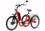 Tricycle Evasion 24 pouces - Rouge