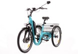 Tricycle Evasion 24 pouces - Turquoise