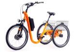 Tricycle Evasion 24 pouces - Orange