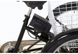 Détails tricycle électrique Jules