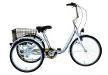 Tricycle adulte Marius gris