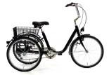 Tricycle adulte Marius noir