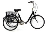 Tricycle adulte Marius noir