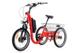 Tricycle Evasion 20 pouces - Rouge
