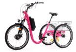 Tricycle Evasion 24 pouces - Fuchsia