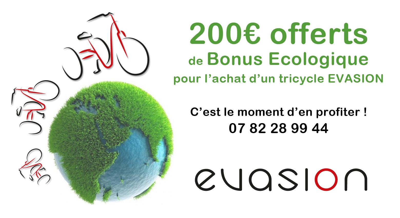 Bonus écologique 200€