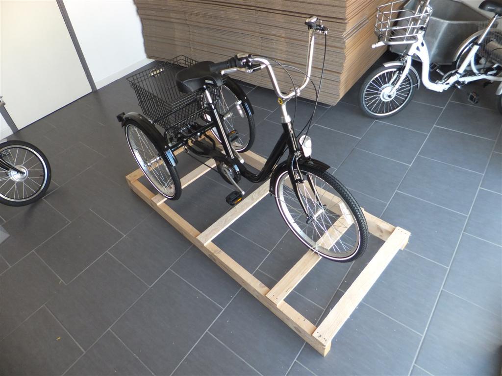Tricycle adulte envoyé sur palette