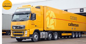 notre partenaire de transport Geodis